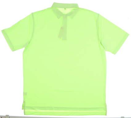 New W/ Logo Mens Peter Millar Golf Polo X-Large XL Green MSRP $85 MF17EK11S
