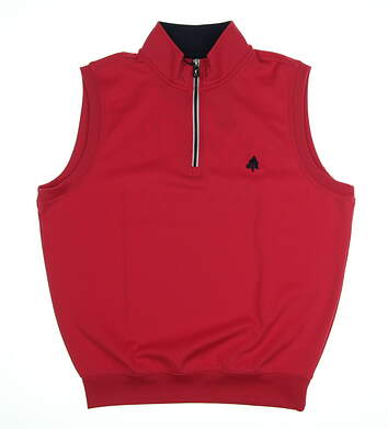 New W/ Logo Mens Fairway & Greene Golf Vest Medium M Pink MSRP $99