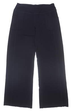 New Womens Jo Fit Terry Palazzo Pants Size Small S Navy Blue MSRP $106 UB050-MDN