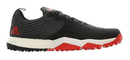 New Mens Golf Shoe Adidas Adipower 4orged Sport Medium 12 Black/Red/Gray MSRP $130