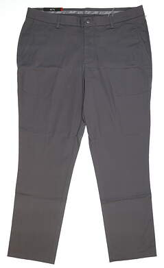 New Mens Puma Tailored Golf Chino Pants 38x32 Quiet Shade MSRP $80 572550 02