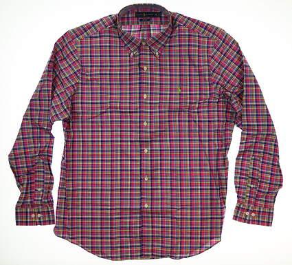 New Mens Ralph Lauren Button Up X-Large XL Multi MSRP $125