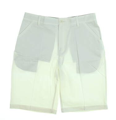 New Mens Adidas Adipure Golf Shorts Size 32 White MSRP $85 AF2813