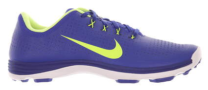 New Mens Golf Shoe Nike Lunar Cypress Medium 10.5 Blue/Green MSRP $230
