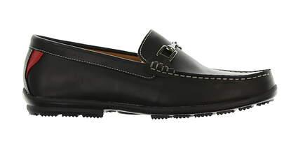 New Mens Shoe Footjoy Country Club Casuals Medium 9.5 Black MSRP $160