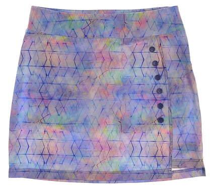 New Womens Lija Shibori Skort Size 6 Multi MSRP $110
