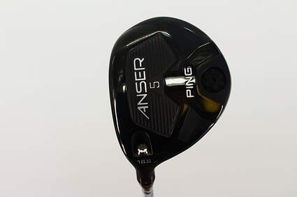 Ping Anser Fairway Wood 5 Wood 5W 18.5* Ping TFC 800F Graphite Regular Left Handed 42.5 in