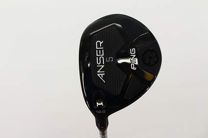 Ping Anser Fairway Wood 5 Wood 5W 18.5* Ping TFC 800F Graphite Stiff Left Handed 42.5 in