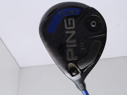 Ping G30 Fairway Wood 3 Wood 3W 14.5* Ping TFC 419F Graphite Regular Left Handed 43 in