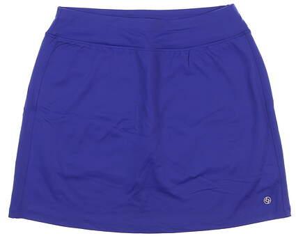New Womens Lija Golf Skort Size Medium M Royal Blue MSRP $110