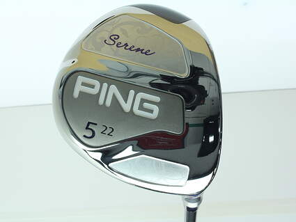 Ping Serene Fairway Wood 5 Wood 5W 22* Ping TFC 80i Graphite Ladies Right Handed 41.25 in