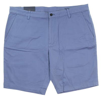 New Mens Oxford Courtland Cotton Chino Shorts Size 36 Colony Blue MSRP $89