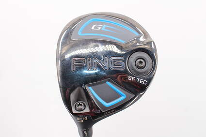 Ping 2016 G SF Tec Fairway Wood 5 Wood 5W 19* ALTA 65 Graphite Senior Left Handed 42.5 in