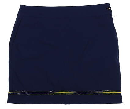New Womens EP Pro 19 in Tech Stretch Golf Skort Size 4 Inky Multi MSRP $90 1230NBC
