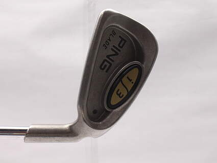 Ping i3 Blade Single Iron 3 Iron Ping JZ Steel Stiff Right Handed Black Dot 39 in