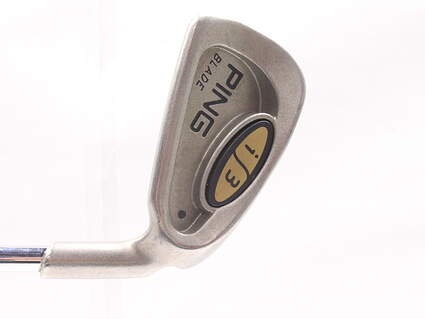 Ping i3 Blade Single Iron 4 Iron Ping JZ Steel Stiff Right Handed Black Dot 38.5 in