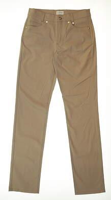 New Womens Golfino Golf Pants Size 6 Khaki MSRP $150