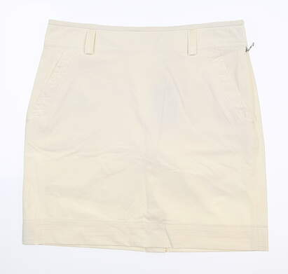 New Womens Ralph Lauren Golf Skort 6 Ivory MSRP $410