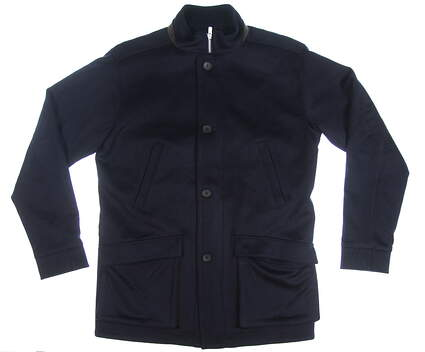 New Mens Peter Millar Coat Medium M Navy Blue MSRP $250