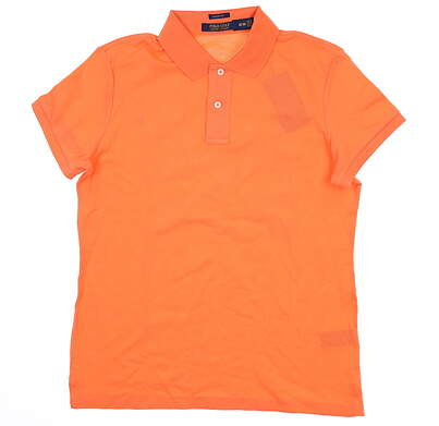 New Womens Ralph Lauren Golf Polo Medium M Orange MSRP $102