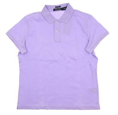 New Womens Ralph Lauren Golf Polo Large L Orchid Bloom MSRP $102