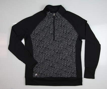 New Womens Adidas Primaloft Jacket X-Large XL Black MSRP $100 BC7343