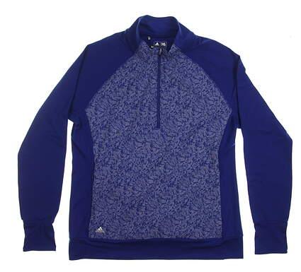 New Womens Adidas Primaloft Jacket X-Large XL Blue MSRP $100 BC5272