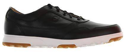 New Mens Golf Shoe Footjoy Contour Casual Medium 11.5 Black MSRP $140