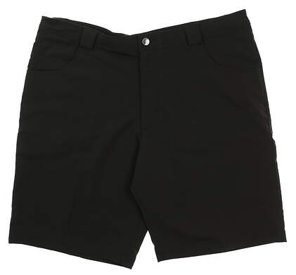 New Mens Straight Down Golf Shorts Size 40 Black MSRP $120