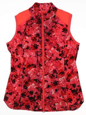 New Womens EP Pro Mahalo Golf Vest Large L Pink MSRP $125 6206SHB