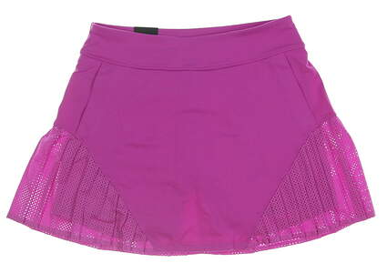 New Womens Under Armour Golf Skort Small S Magenta MSRP $70