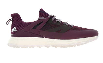New W/O Box Mens Golf Shoe Adidas Crossknit Boost Medium 9.5 Purple MSRP $160