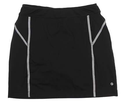 New Womens EP Pro Golf Skort Small S Black 0201SEB MSRP $90