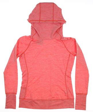 New Nike Hooded Sweatshirt Orange MSRP $105 802882