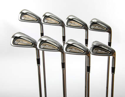 Cleveland CG16 Tour Satin Chrome Iron Set 3-PW True Temper Dynamic Gold S300 Steel Stiff Right Handed 38 in
