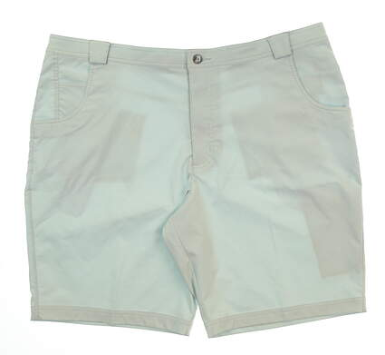 New Mens Straight Down Golf Shorts Size 42 Gray MSRP $100 40158