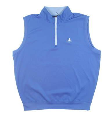 New W/ Logo Womens Fairway & Greene Golf Vest X-Large XL Blue C11513 MSRP $110