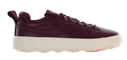 New Womens Golf Shoe Nike Course Classic 7 Bordeaux MSRP $130