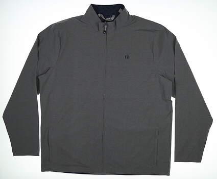 New Mens Travis Mathew Jacket XX-Large XXL Gray MSRP $150 1MN242