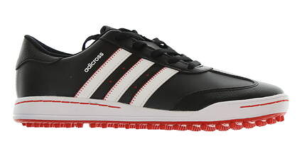 New Junior Golf Shoe Adidas Adicross 3 Black/Red MSRP $60 F33532