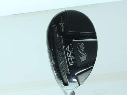 Adams Idea Tech V4 Hybrid 4 Hybrid Adams Mitsubishi Rayon Bassara Graphite Stiff Left Handed 40 in