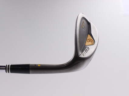Cleveland CG14 Gunmetal Wedge Sand SW 54* 9 Deg Bounce Cleveland Traction Wedge Steel Wedge Flex Right Handed 35.75 in