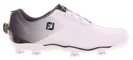 New Mens Golf Shoe Footjoy DNA Helix Boa 11.5 Black/White MSRP $240 53319