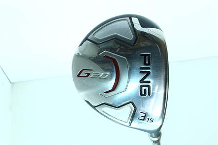 Ping G20 Fairway Wood 3 Wood 3W 15* Ping TFC 169F Graphite Regular Right Handed 42.5 in