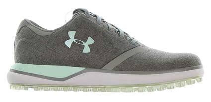 New Womens Golf Shoe Under Armour UA Performance SL 6 Gray MSRP $130 302112-100