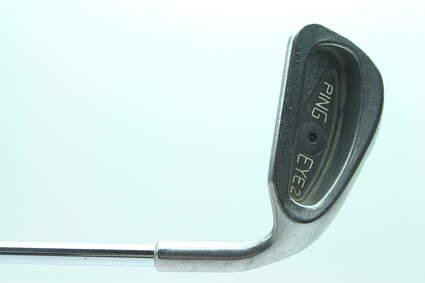 Ping Eye 2 Single Iron 8 Iron Ping ZZ Lite Steel Stiff Right Handed Black Dot 36.5 in