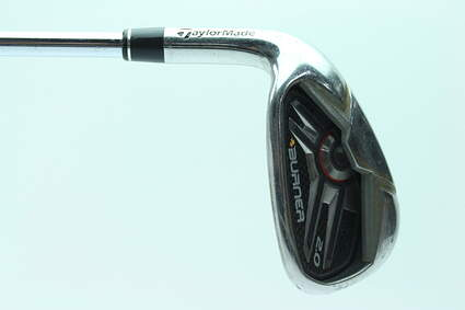 TaylorMade Burner 2.0 HP Single Iron 9 Iron Stock Steel Shaft Steel Regular Left Handed 36.5 in