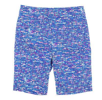 New Womens EP Pro Golf Shorts Medium M Multi MSRP $95