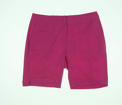 New Womens EP Pro Golf Shorts 4 Pink NS8000 MSRP $84