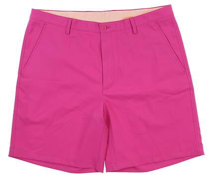 New Mens Fennec Golf Shorts 40 Magenta 171F600 MSRP $85